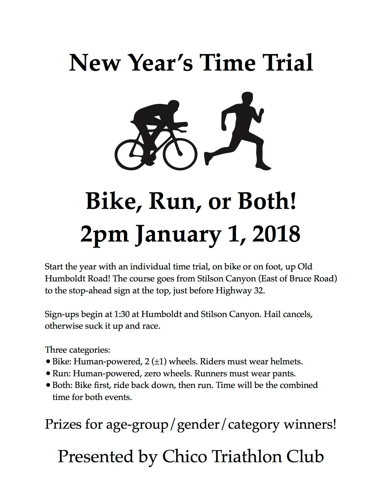 New Year's Time Trial